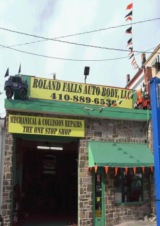 Roland Falls Auto Body, LLC in Baltimore, MD