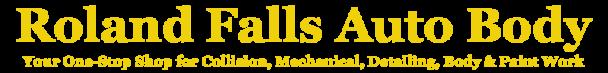 Roland Falls Auto Body Logo